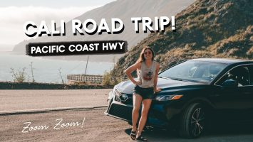 Pacific Coast Hwy California ROAD TRIP Part 3 HWY 1 To Big Sur Monterey Bay