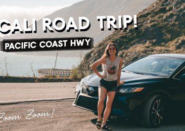 Pacific Coast Hwy California ROAD TRIP Part 3 HWY 1 To Big Sur Monterey Bay