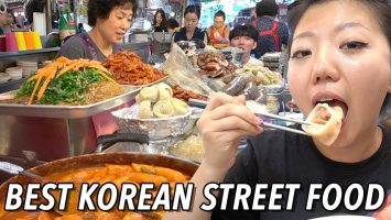 TOP 10 KOREAN STREET FOODS TO TRY Gwangjang Market Street Food Tour In Seoul South Korea