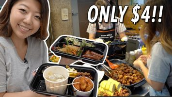 CHEAP Korean Street Food LUNCH Tongin Market Food Tour In Seoul South Korea