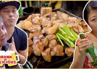 Vbp 4281 BEST KOREAN BARBECUE IN SEOUL Late Night PORK BBQ In South Korea